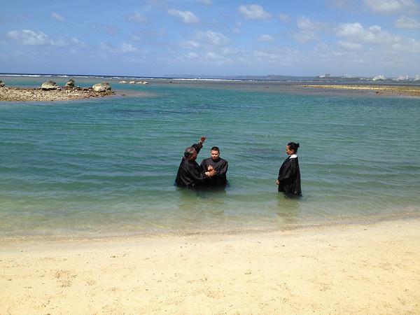 2013-03-30 Var & Colleen Baptism
