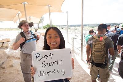Day 1 - Bet Guvrin, Underground City