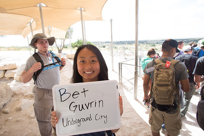 Day 1 - Bet Guvrin, Underground City