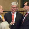 From left: Aurelia Frick, Minister of Foreign Affairs, Liechtenstein;  Eamon Gilmore, Tánaiste (Deputy Prime Minister) and Minister for Foreign Affairs and Trade of Ireland, representing the Presidency of the Council of the European Union; and Espen Barth Eide, Minister of Foreign Affairs, Norway (Photo: EFTA)