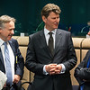 The EEA Council 21 May 2013. From left: Deputy Secretary-General Helge Skaara, EFTA Secretariat; and Ambassador Thorir Ibsen and Deputy Head of Mission, Nikulás Hannigan, Icelandic Mission to the EU (Photo: EFTA)