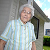 Helen Anderson, who will be celebrating her 90th birthday next week, outside her Prince George home. Citizen photo by Brent Braaten   May 16 2013