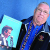 Bill Catherall, a local Johnny Cash fan who will be attending the My Father and The Man In Black show, has a souvenir picture and song book he treasures. Catherall was at the concert at London Gardens, in Ontario, when Cash proposed to June Carter in 1968. Citizen photo by Brent Braaten May 16 2013