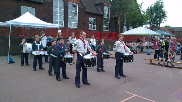 2013-06-22 Drums at Ellison Street School