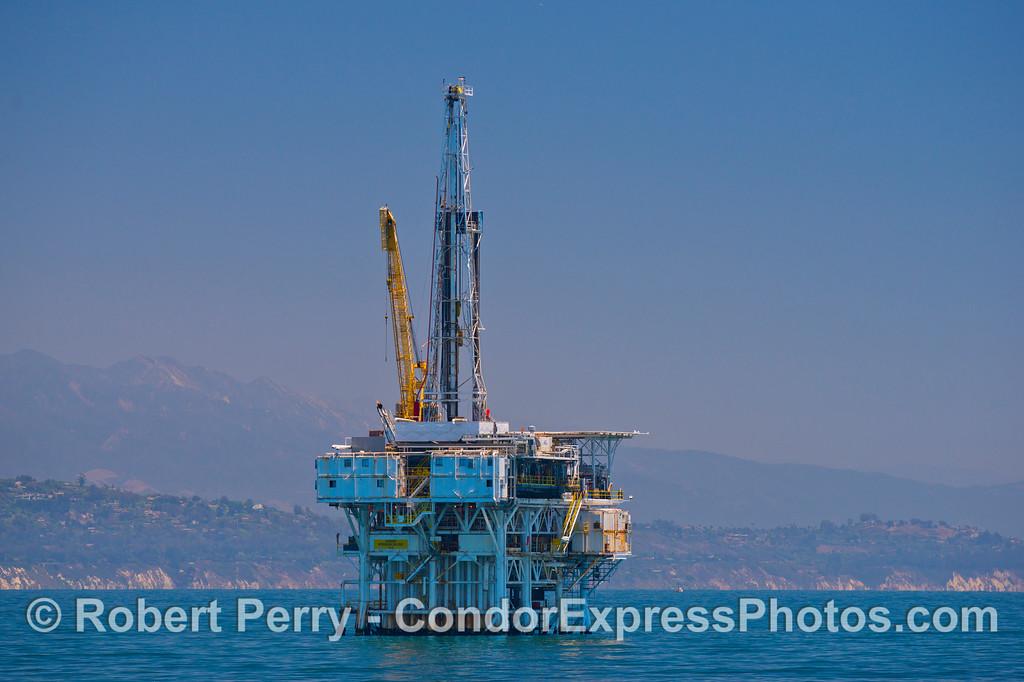 Oil platform Holly.