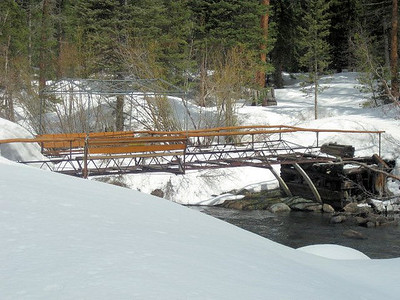 The bridge in early spring.