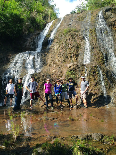 2013-08-31 Andrew Falls Hike