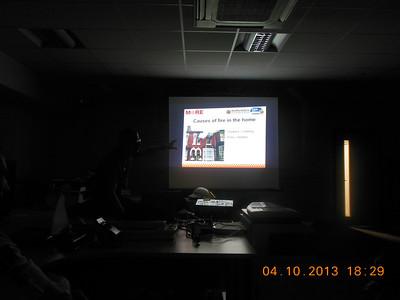 2013-10-04 Cubs Fire Station Visit