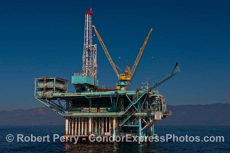 Offshore oil Platform B.