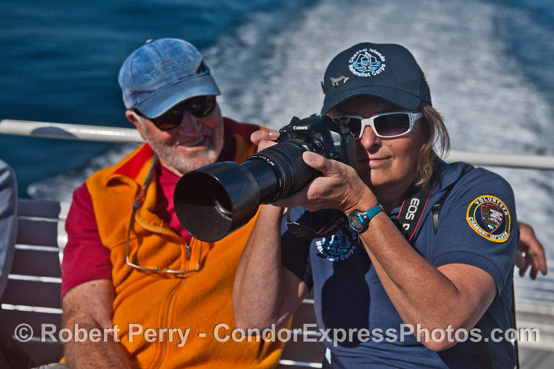 John K and Barbara L on flybridge CINC 2013 11-02 SB Channel East-a-002