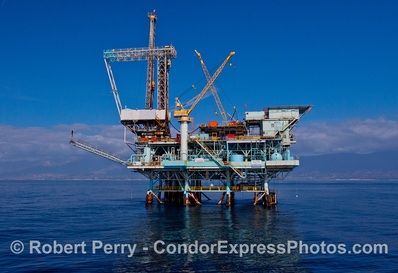 Offshore oil and gas platform Hillhouse.
