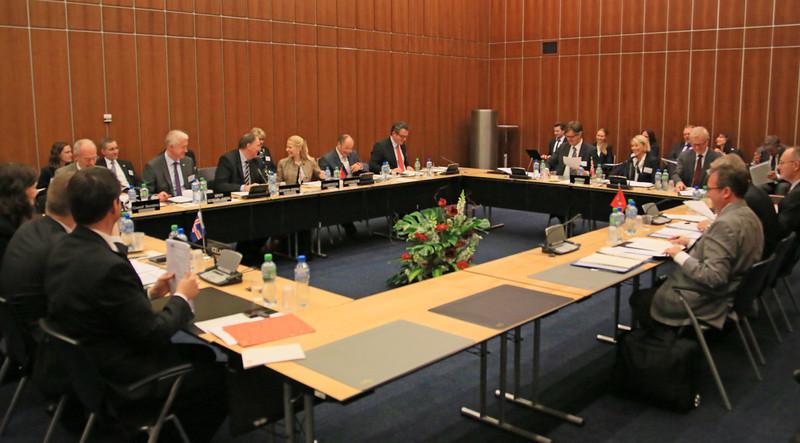 EFTA Ministerial Meeting 18 November 2013, Geneva Switzerland.