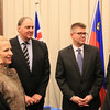 From left: Ms Monica Mæland, Minister of Trade and Industry, Norway; Ms Aurelia Frick, Minister of Foreign Affairs, Liechtenstein, Mr Kristinn F. Árnason, Secretary-General, EFTA; Mr Gunnar Bragi Sveinsson, Minister for Foreign Affairs and External Trade, Iceland;  Mr Adrian S. Christobal Jr, Undersecretary for Industry Development and Trade Policy, Philippines; and Mr Johann N. Schneider-Ammann, Federal Councillor, Head of the Federal Department of Economic Affairs, Education and Research, Switzerland