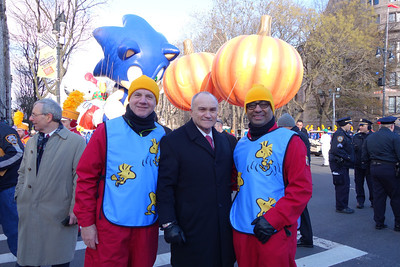 With Ray Kelly, NYPD Commissioner
