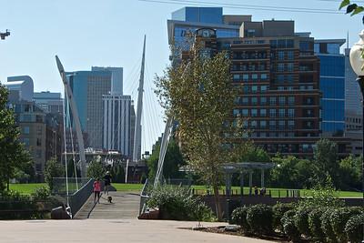 The Denver Millennium Bridge