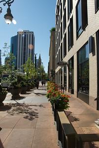 Sixteenth Street Mall on an August morning