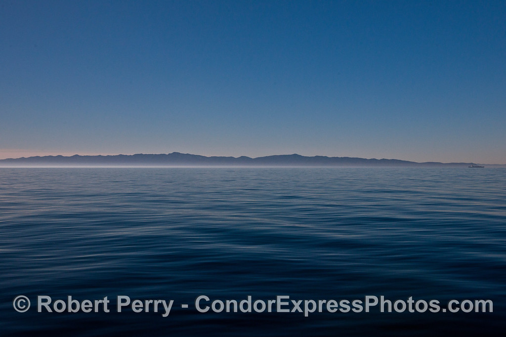 Santa Cruz Island panorama glassy ocean 2013 12-14 SB Channel -a- 004