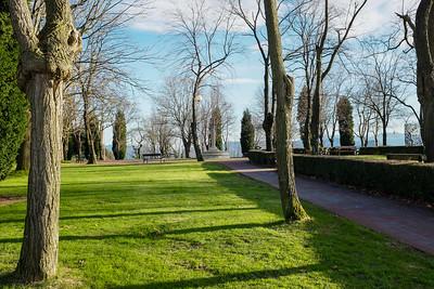 The park at Monte Artxanda