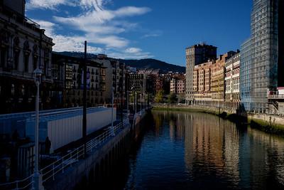 Down the Ria del Nervion o del Bilbao