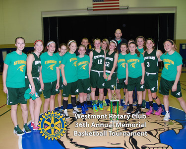 36th Annual Westmont Rotary Memorial Basketball Tournament