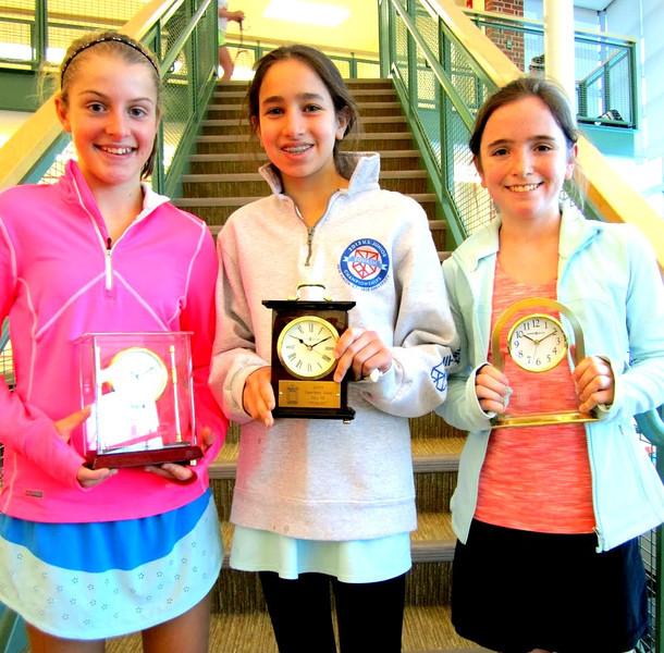 GU 13: Champion - Binney Huffman (Greenwich, CT); Finalist -Katherine Glaser (Villanova, PA); 3rd - Julia Curran (Bronxville, NY)