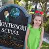 "Anna's first day of ""Kindergarten"" at Montessori School of Baton Rouge"