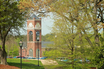 General Campus Shots; Spring 2013.