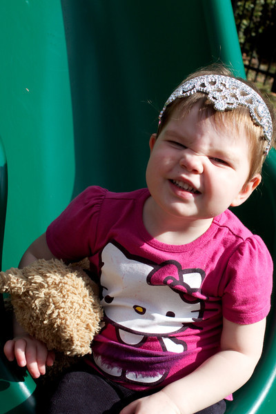 Ellen had Bizzy Bear (from her school) for the week - we did all sorts of fun stuff with him!