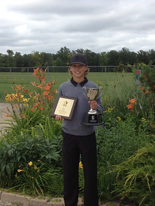 Men's Junior Bantam Champion - Zach Wytinck, Glenboro Golf and Country Club