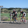 Matt Brady and Doug Johnson on Ballard Canyon, both on the first day of am almost 300 mile week on the bike!