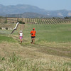 Audra Kammerer and David Young putting in the miles