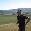 Matt Brady on the Vineyard run post lunch!