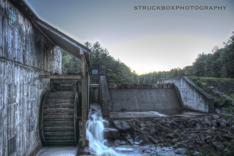 Taylors Mill, Derry NH<br /> <br /> HDR