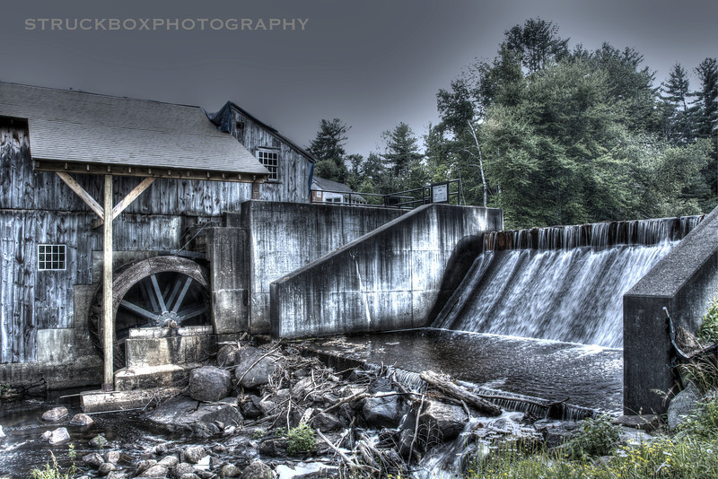 Taylor's Mill, Derry NH<br /> <br /> HDR