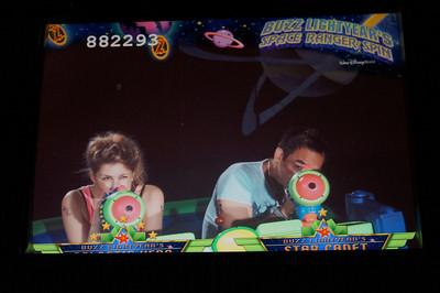 Buzz Lightyear's Space Ranger Spin!