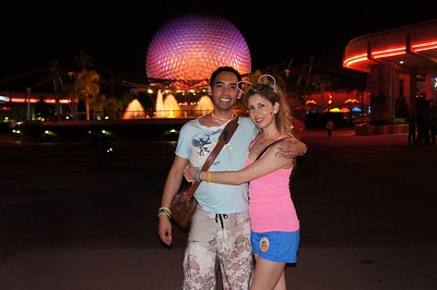 EPCOT at closing (photo by guest)