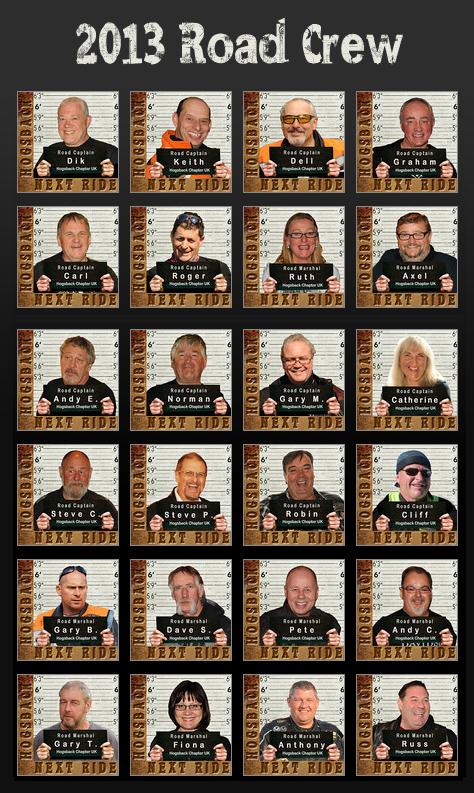 The 2013 Road Crew
