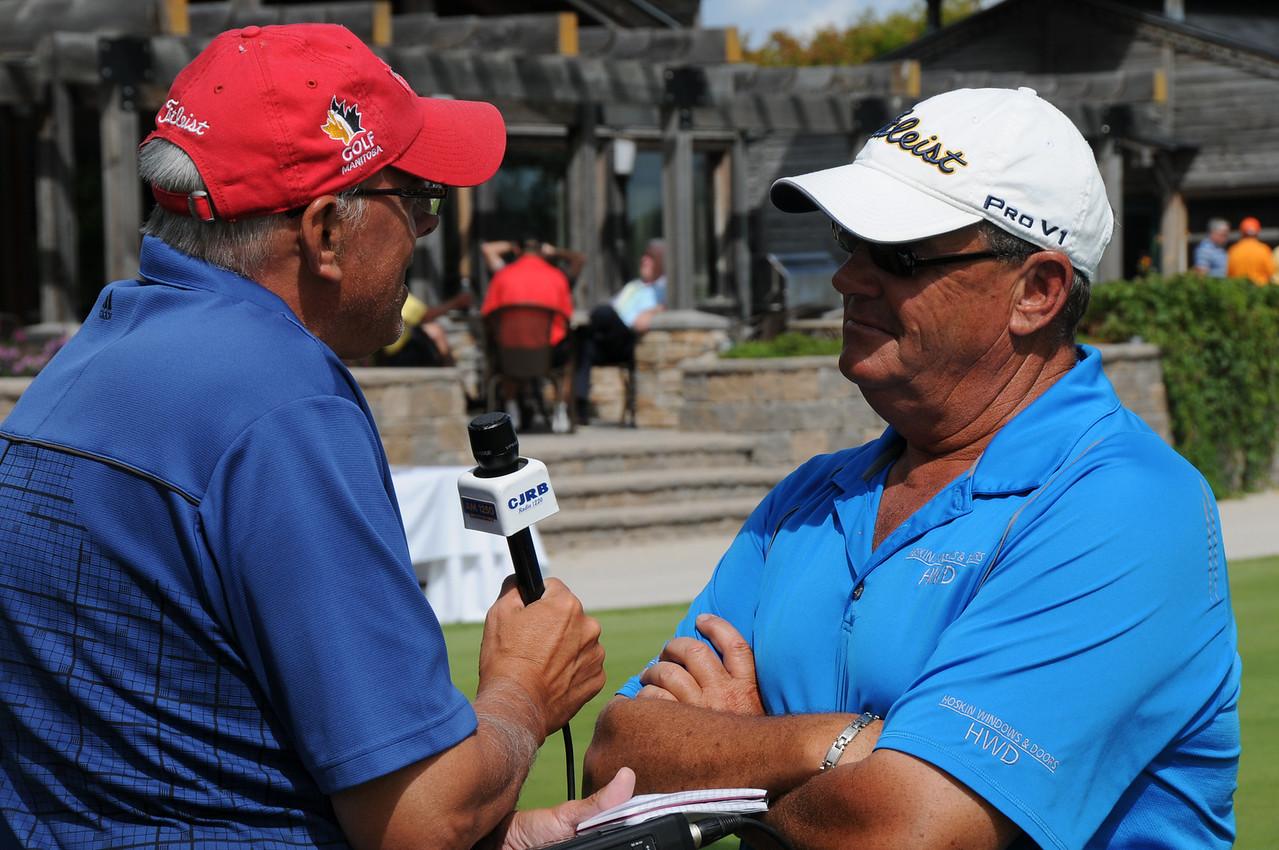 Claton Dreger, CFAM interviews Champion Garth Collings
