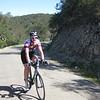 Robin on Drum Canyon summit