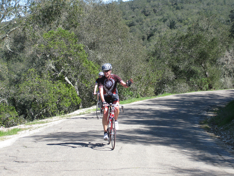 Joe Steyn on Drum Canyon summit