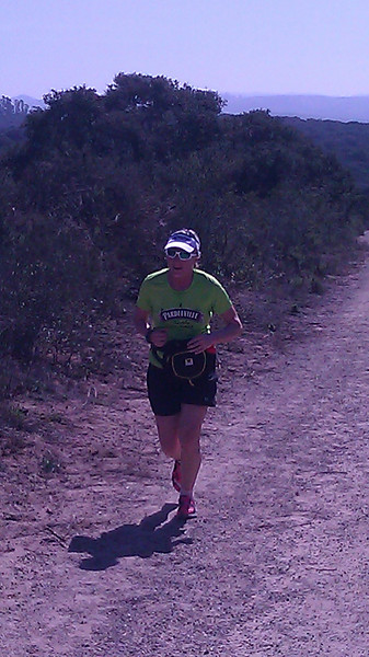 Julie Fagan at La Purisima Run