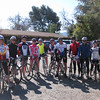Group 1 pre-ride Drum Canyon