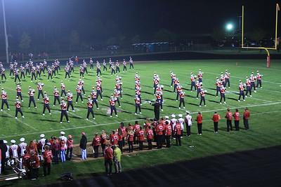 2013 UW Band at Wisconsin Rapids 10-4-2013
