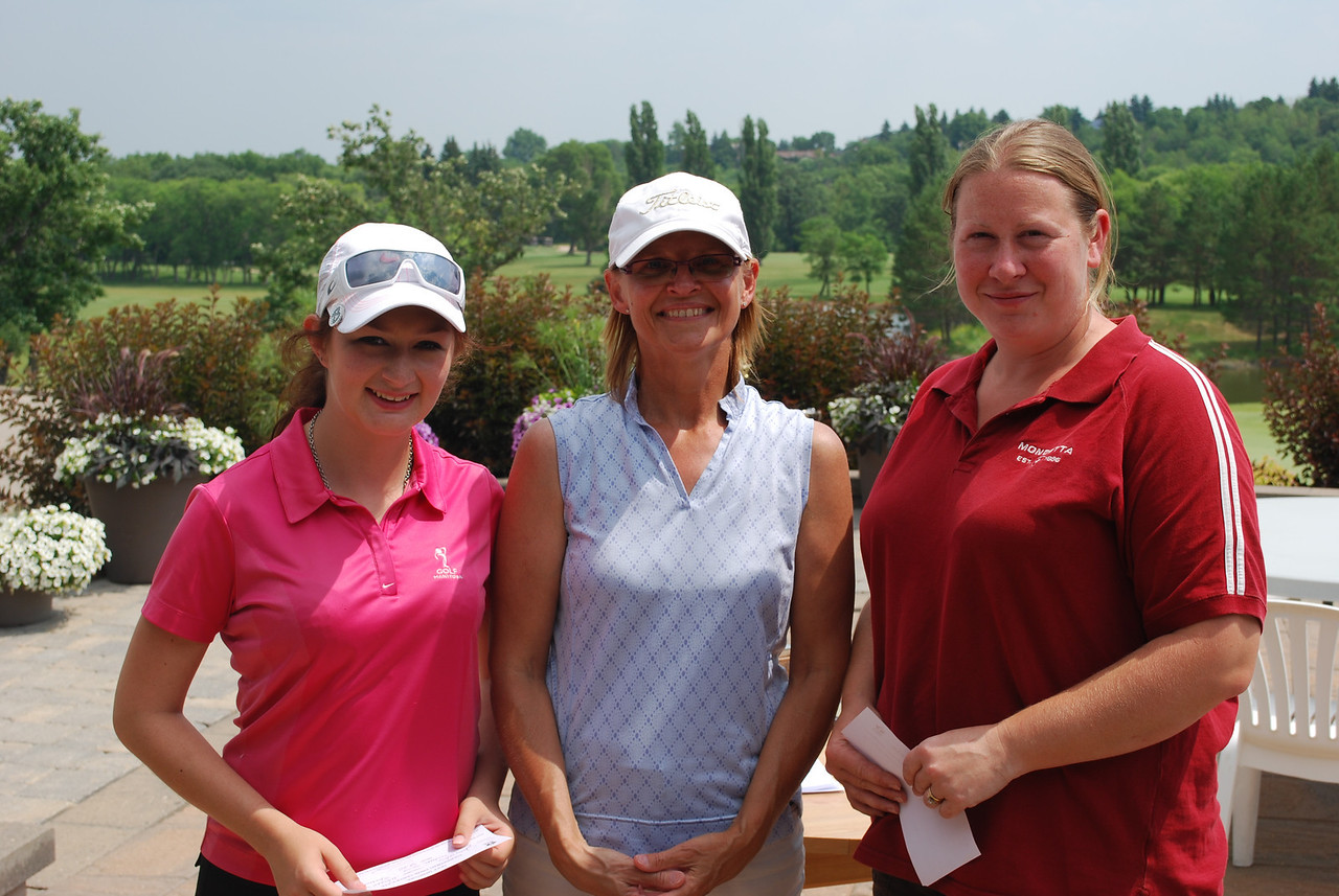 Tied for 3rd Overall - Breanne Fredette, Southwood and Mindy Lichtman, St. Boniface