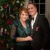 12-7-13 Christmas Dinner - Me & Steve