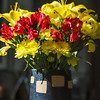 2-9-13 Superbowl Flowers<br /> 49'ers lost. Sad. But had a fun party.
