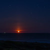 5-25-13 Moonrise at the Beach Club<br /> Full moon rose earlier enough for us to go watch on Saturday night