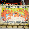 B'Day Cake<br /> Gail had this great cake made with a printed edible topping she created & had printed at the local bakery.