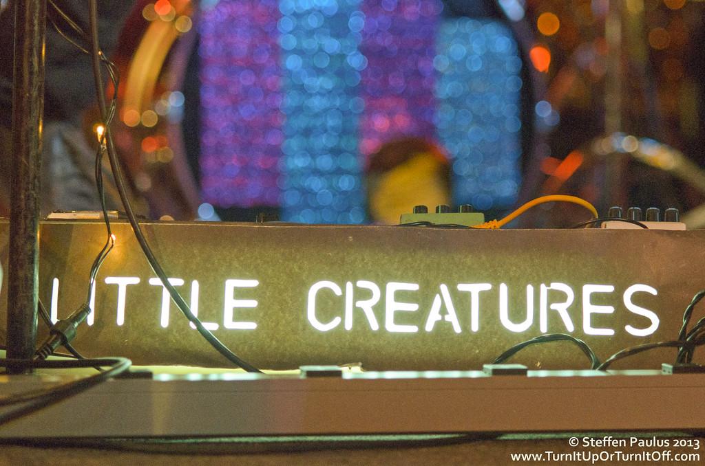 Little Creatures @ Horseshoe Tavern, Toronto, ON, 15-January 2013