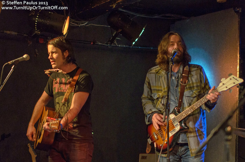 Dustin Bentall & The Smokes @ Rivoli, Toronto, ON, 24-Jan 2013